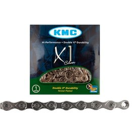 "KMC KMC X1 Chain Single Speed 3/32"" Silver"