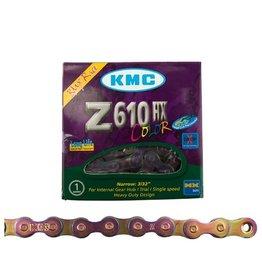 KMC Kmc Chain Z610HX Jet Fuel 1/2x3/32