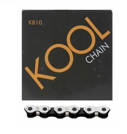 "KMC Kmc Kool K810 Chain 1/2"" x 3/32"" Silver/Black"