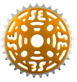 SE RACING Se Racing One Piece Alloy Chainring 33T Gold