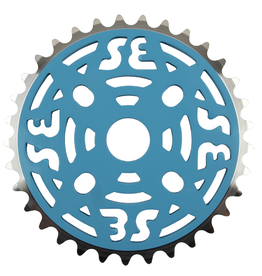 SE RACING Se Racing One Piece Alloy Chainring 33T Blue