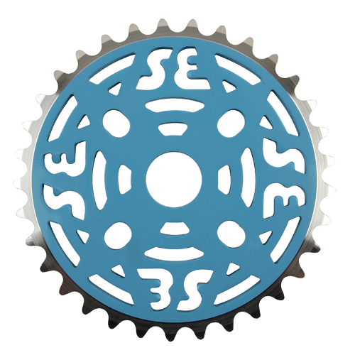 SE BIKES Se Racing One Piece Alloy Chainring 33T Blue
