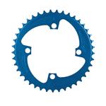MCS Bicycles Mcs 4-Bolt Chainring Blue