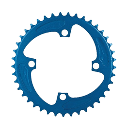MCS Bicycles Mcs 4-Bolt Chainring Blue