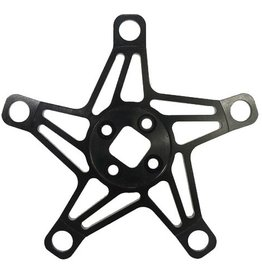 Answer BMX Answer Alumilite Crank 5-Bolt Spider Black
