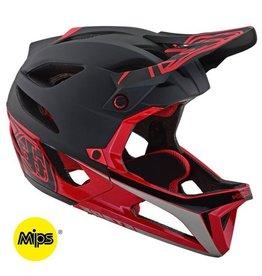 Troy Lee Designs Troy Lee Stage Mips Race Helmet Black/Red