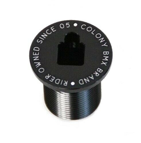 Colony Fork Top Cap Black  M24