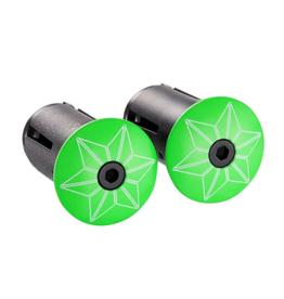 Supacaz Bar Plug Neon Green