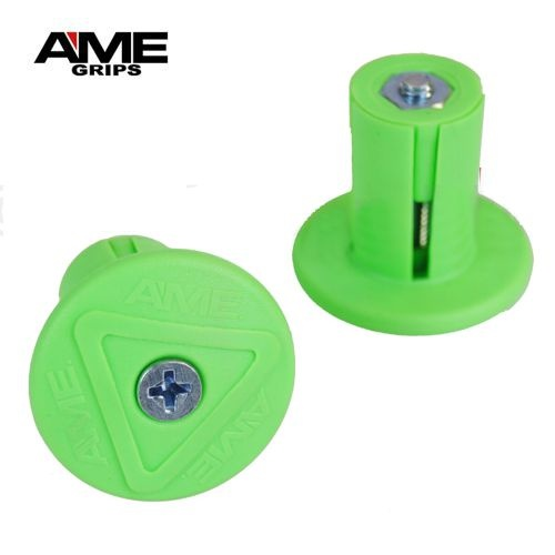 AME Grip Savers Bicycle Handlebar Bar Ends (PAIR)