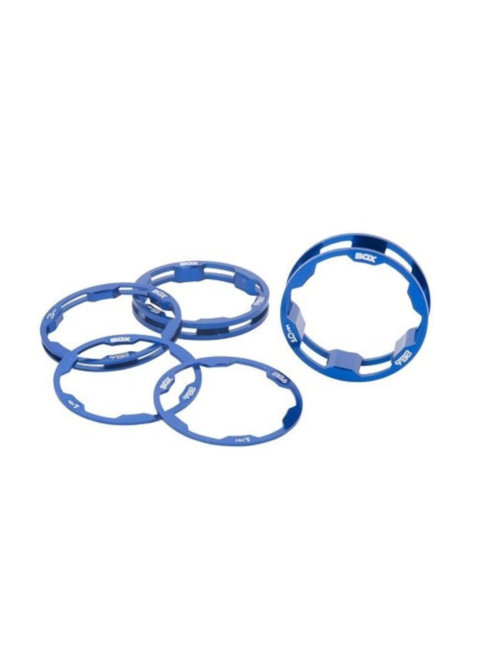 Box Components Box One Stem Spacer 1-1/8 4/Pk