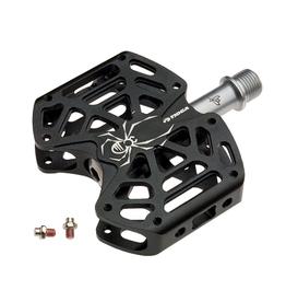"Tioga Tioga D-Spyder Pedal 9/16"" Alloy Platform Black"