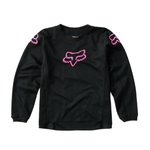 Fox Fox Girls 180 Prix Jersey Black/Pink Kids