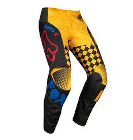 Fox Fox 180 Czar Pant Black/Yellow Kids K5