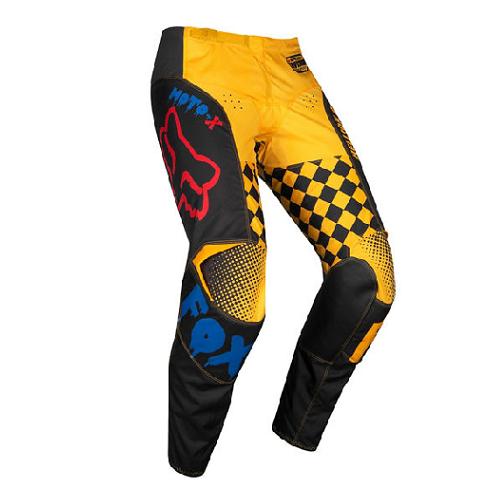 Fox Fox 180 Czar Pant Black/Yellow Kids K5