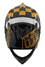 Troy Lee Designs Troy Lee D3 Fiberlite Raceshop Black/Gold
