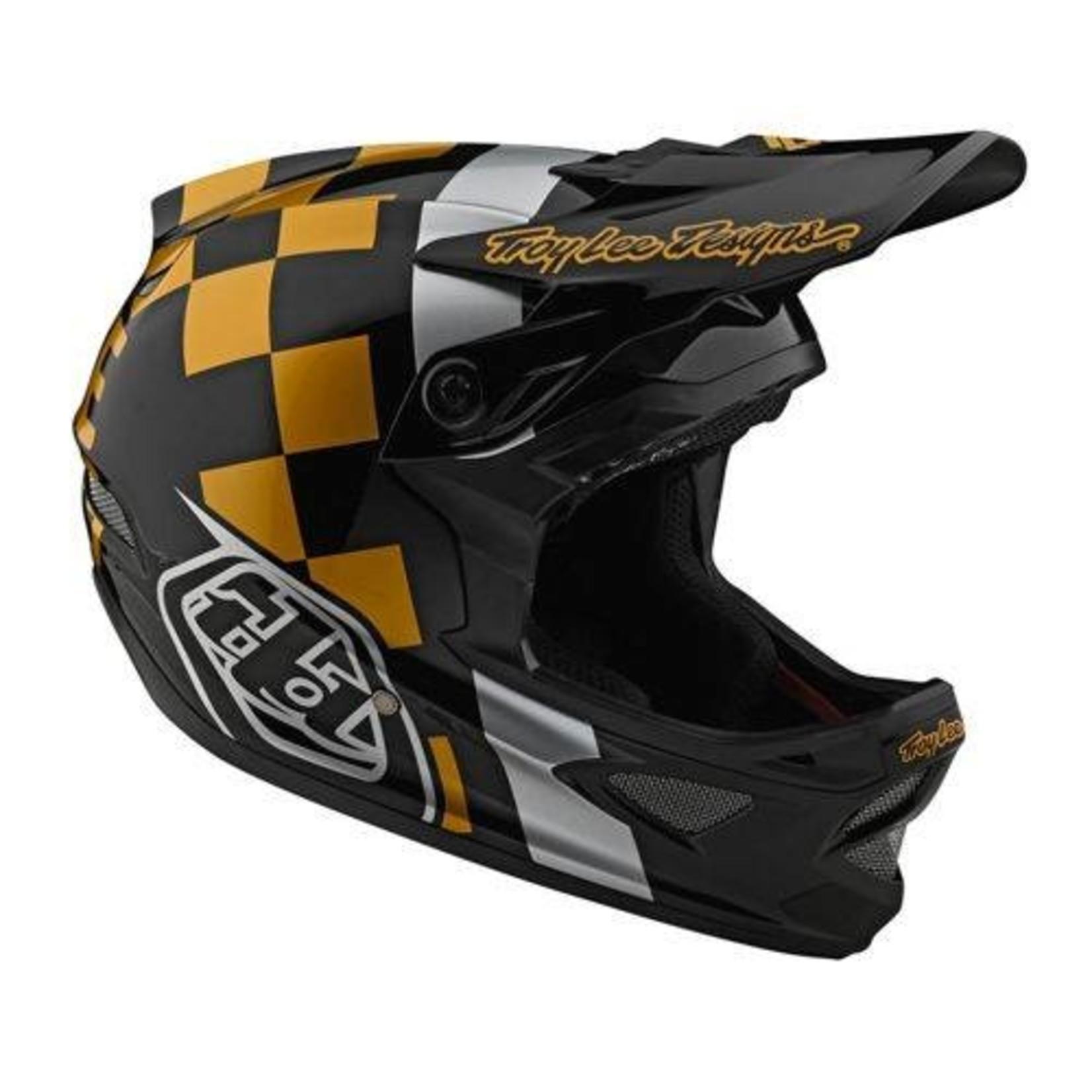 Troy Lee Designs Troy Lee D3 Fiberlite Raceshop Black/Gold