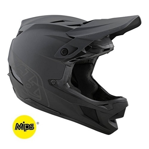 Troy Lee Designs Troy Lee D4 Composite Stealth Black