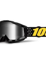 100% Accuri Goggle Pistol Mirror Silver Lens