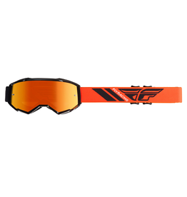 Fly Racing 2019 Fly Goggle Zone Black/Orange Mirror