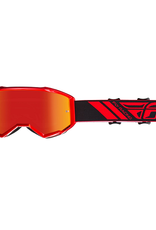 Fly Racing 2019 Fly Goggle Zone Red Mirror