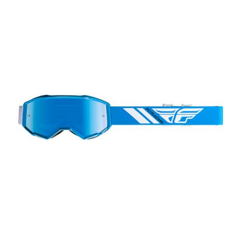 Fly Racing Fly Goggle Zone Yth Blue/Sky Blue Mirror