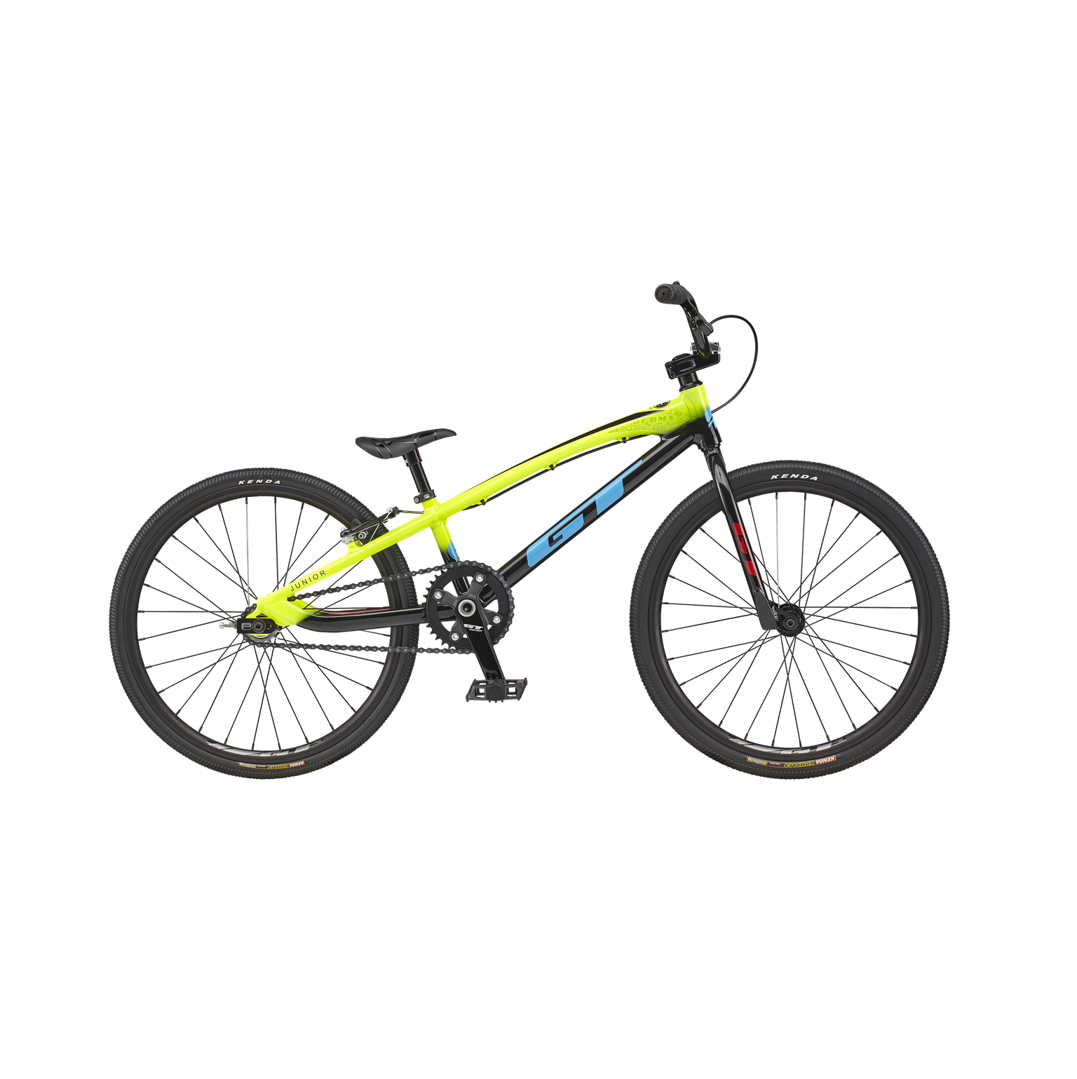 GT Bicycles 2021 GT Speed Series Junior Neon Yellow Race Bike