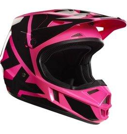 Fox Fox V1 Race Helmet Pink Yth MD