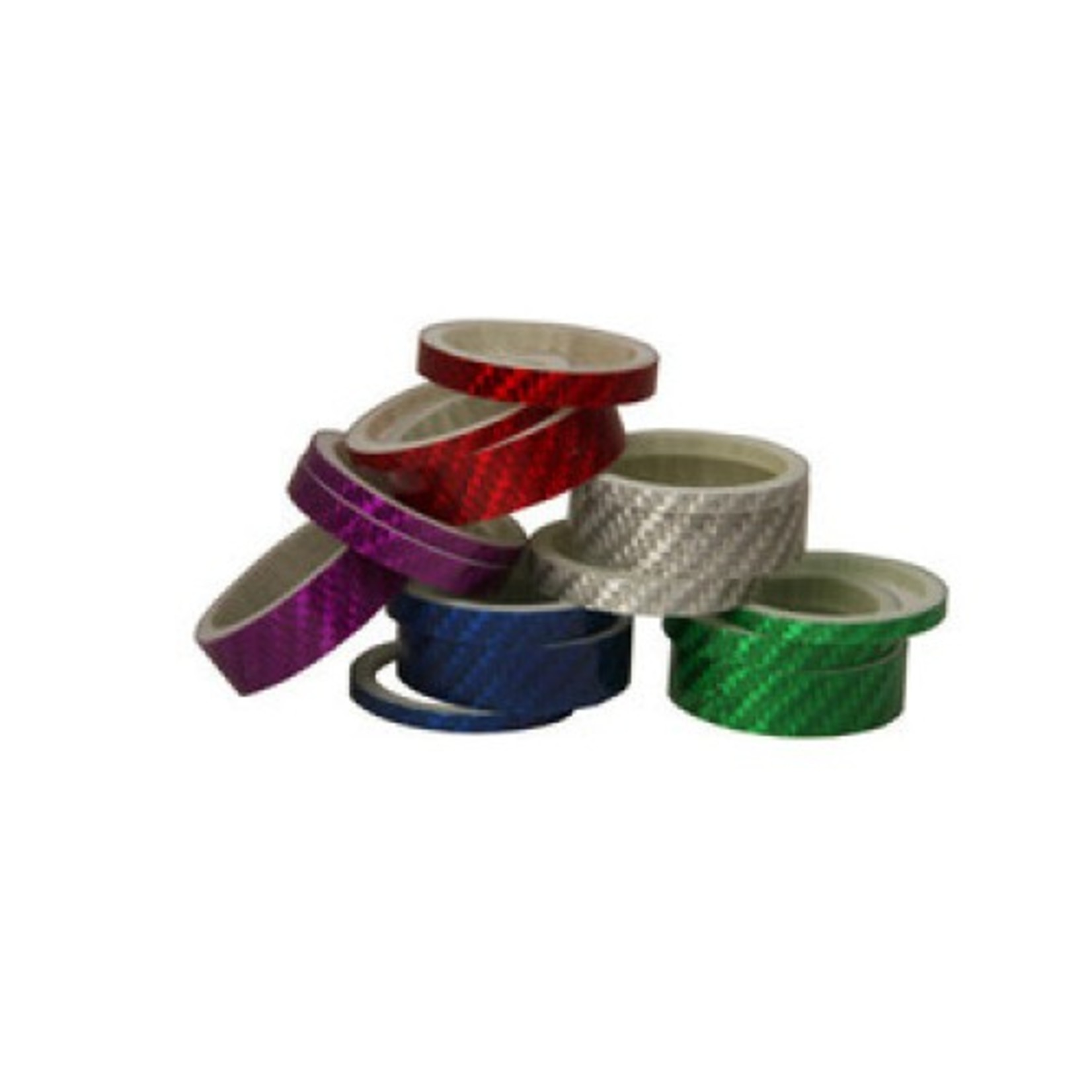 MORPHINE Morphine Carbon Headset Spacers 3/Pk