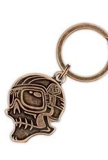 Troy Lee Designs Troy Lee Designs Skully Keychain Antique Cop