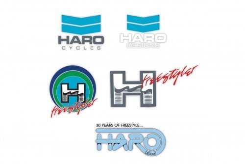 Haro Bikes Decal Haro Old school 5-pk