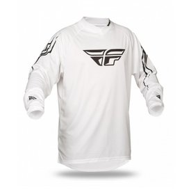 Fly Racing Fly Universal  Jersey XL White