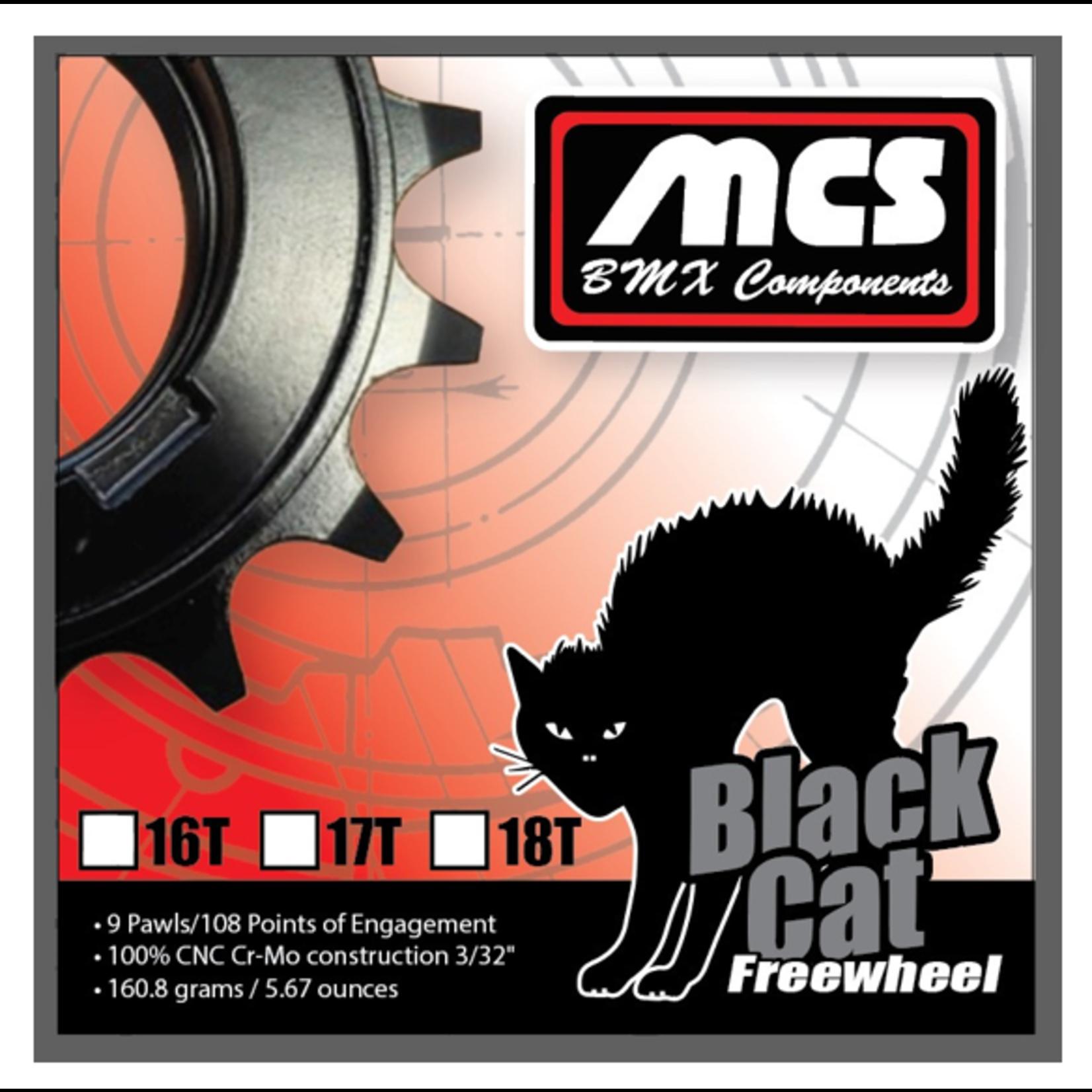 "MCS Bicycles MCS Black Cat Freewheel 3/32"""