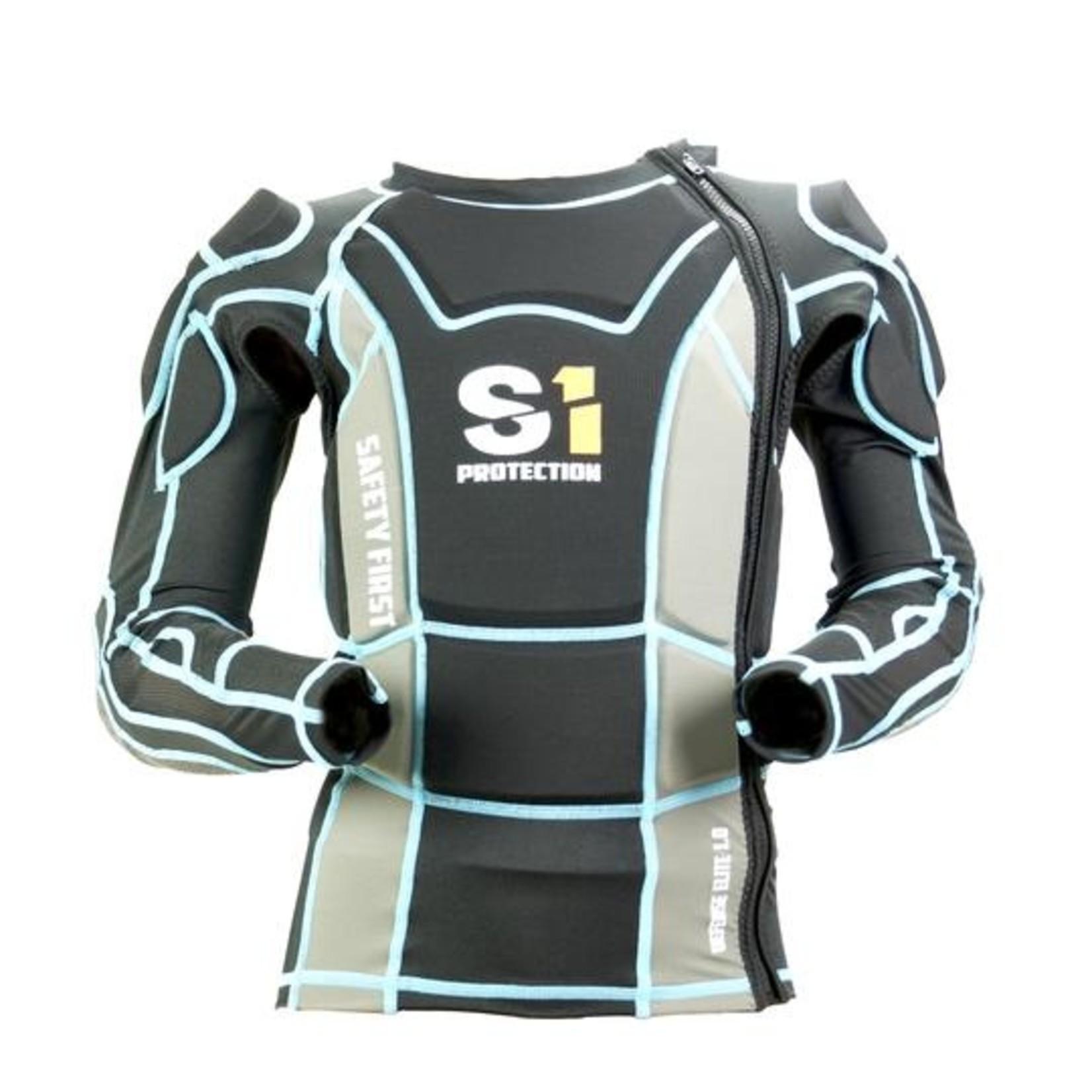 S1 Elite 1.0 Protective Jersey Yth XL