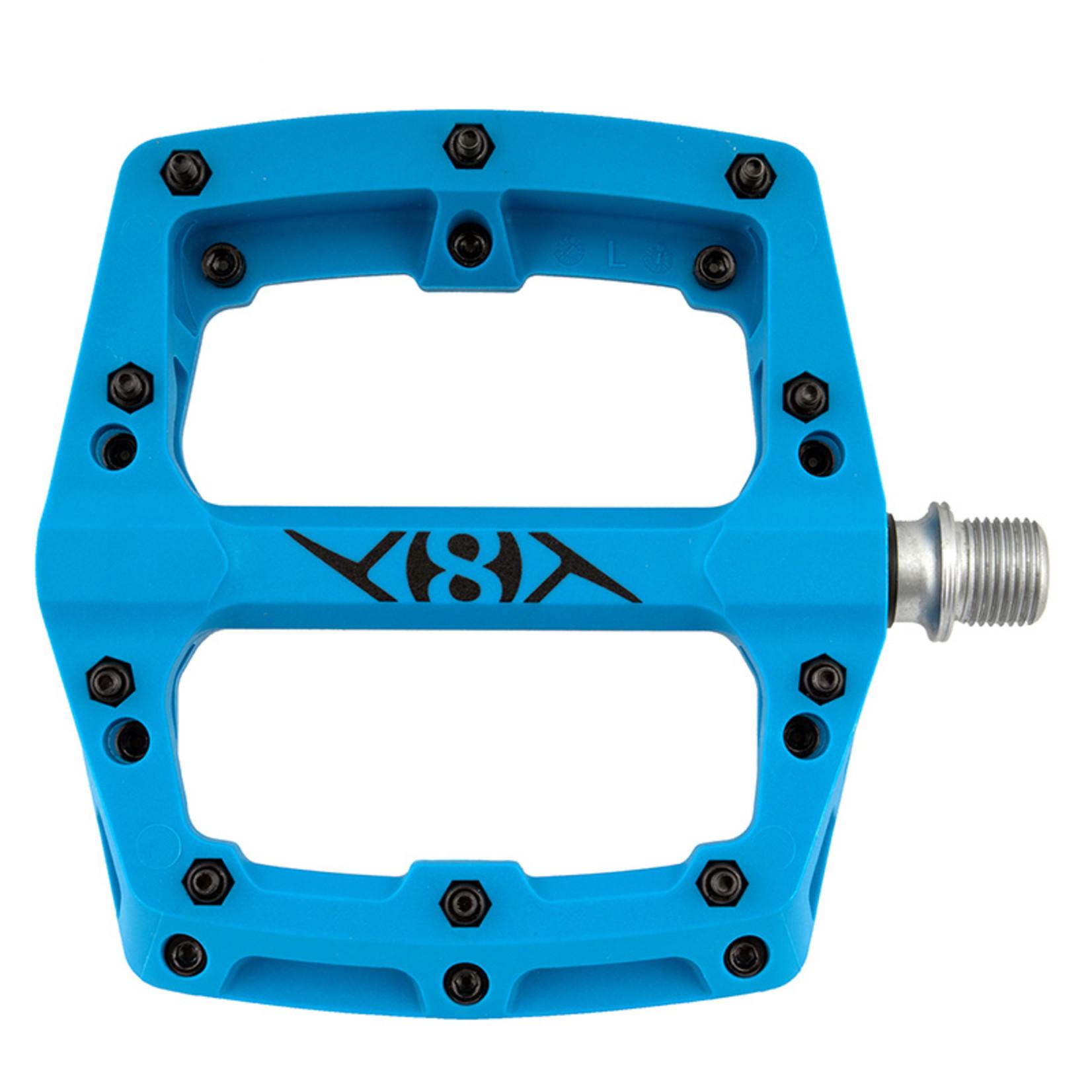 PEDALS OR8 RETOX 9/16 BLUE