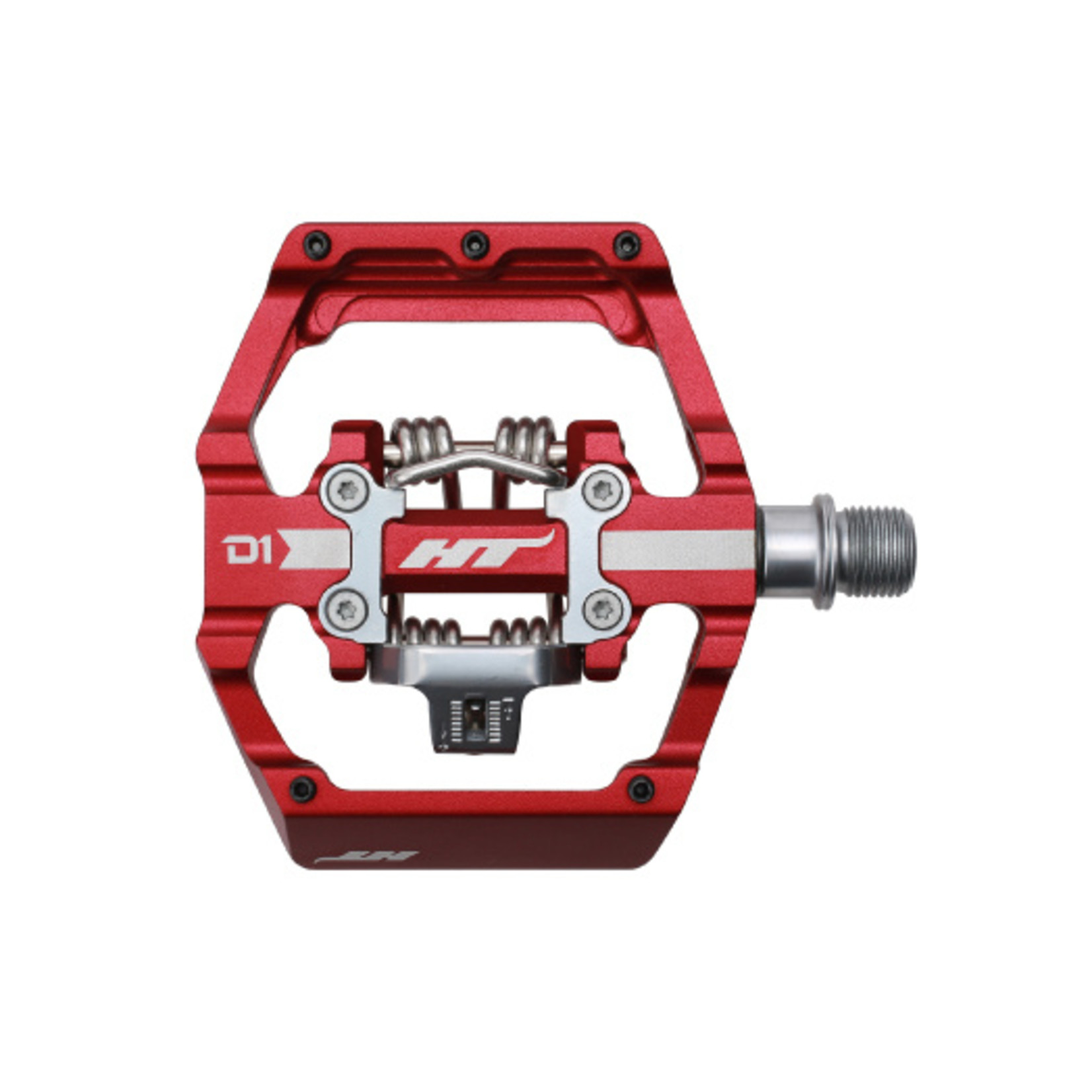 """HT D1 Clipless / Flat  dual sided pedals 9/16"""""""