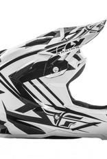 Fly Racing 2017 Fly Default Helmet White/Black