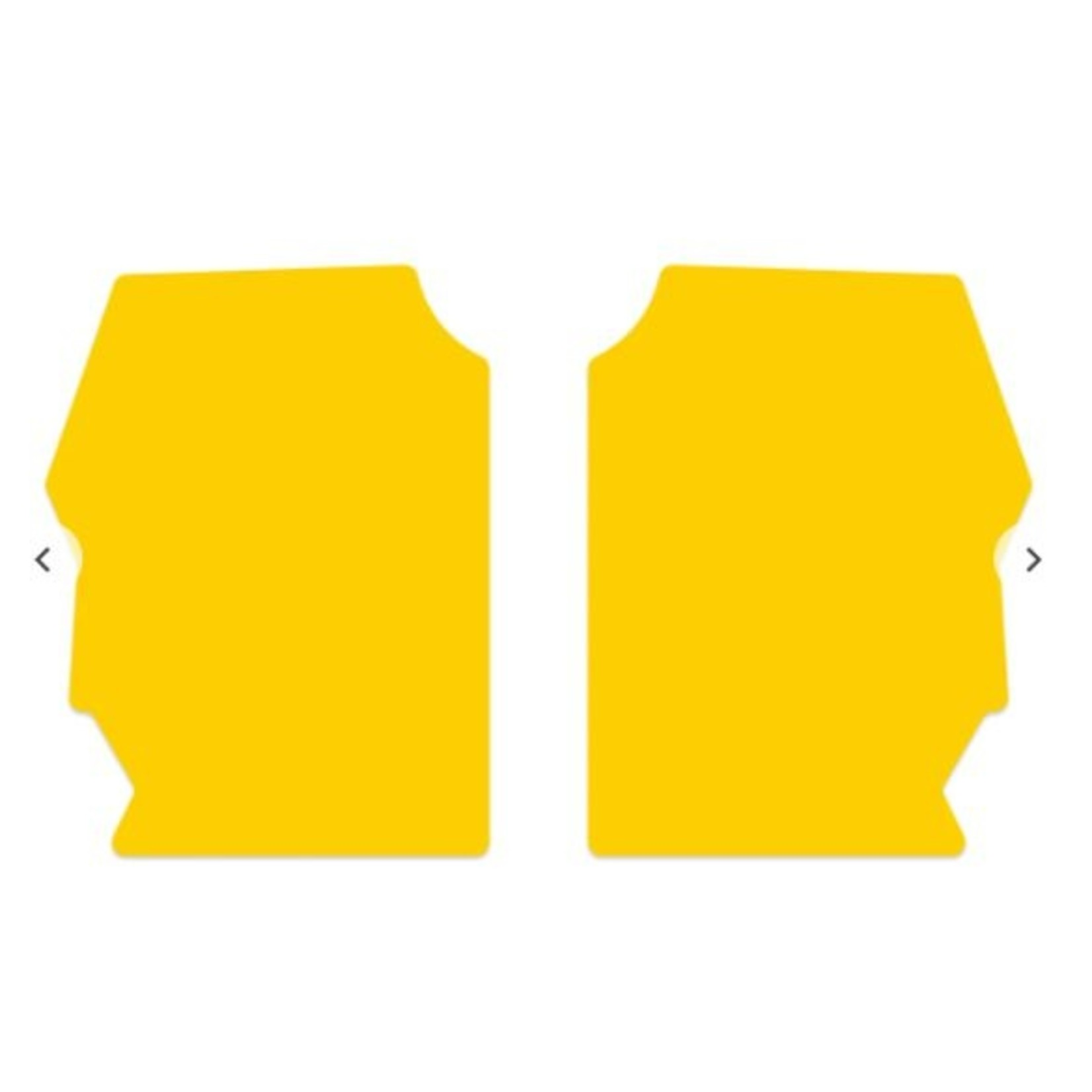 Box Components Box Two Side Number Plate Palette Yellow