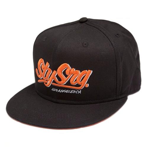 Stay Strong Stay Strong LA Orange/Black Snapback Hat