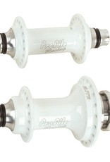 "Profile Racing Profile Racing Elite 36H Hub Set 3/8"" Axles White"