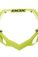 Box Components Box Phase 1 Number Plate  Flo Yellow Pro