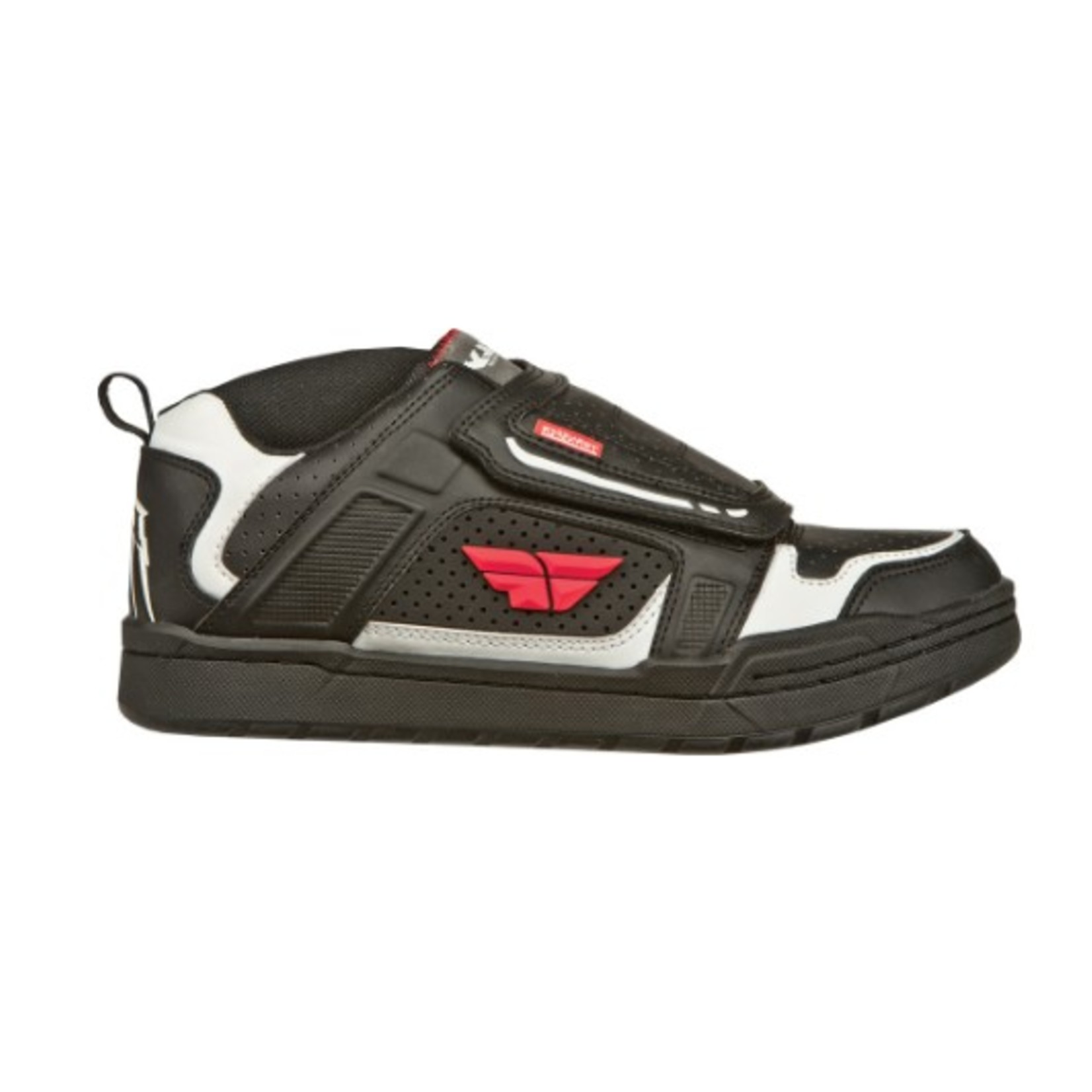 Fly Racing Fly Transfer Shoe Black/White/Red