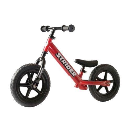 Strider Sports Strider 12 Classic Kids Balance Bike Red