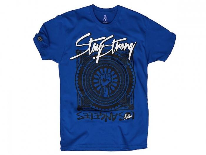 Stay Strong Stay Strong Power T-Shirt Royal Blue