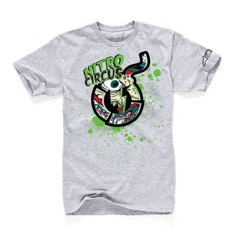Bionic Booger Tee Youth Gray Medium
