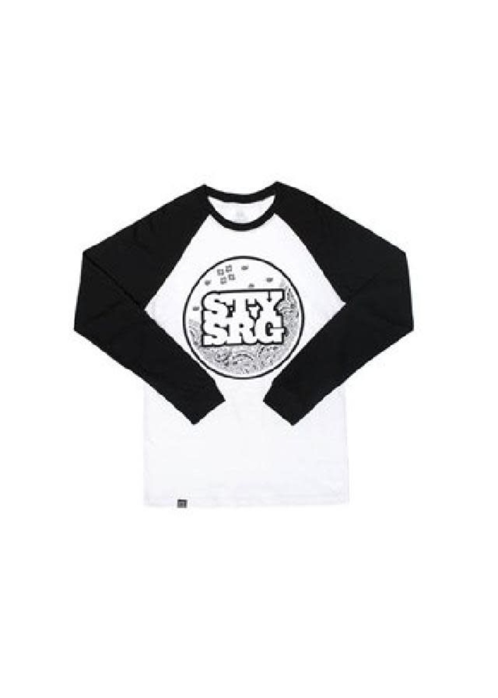 Stay Strong Stay Strong T-Shirt Paisley White/Black