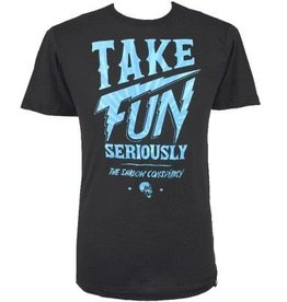 TSC T-Shirt  Fun XL Black/Blue