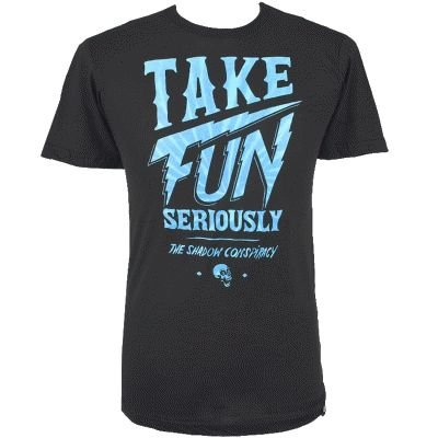 TSC T-Shirt  Fun XL Black/Blue