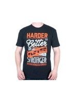 Stay Strong Stay strong T-Shirt Stronger Black/Orange XXL