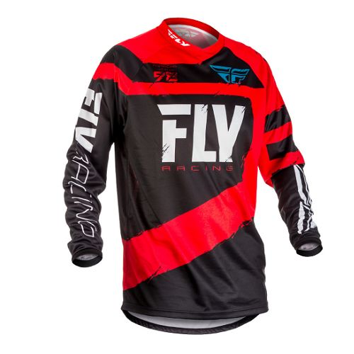 Fly Racing 2018 Fly F-16 Jersey Red/Black Yth SM