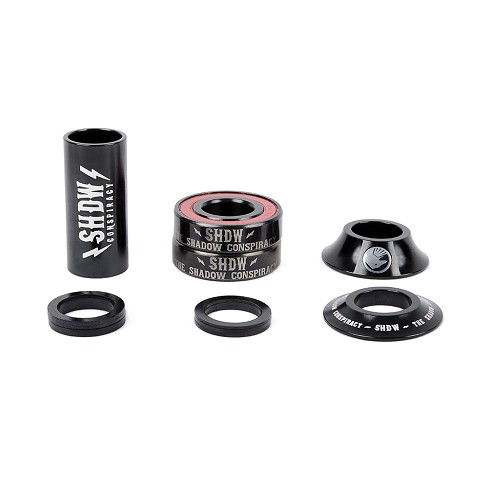 The Shadow Conspiracy TSC Stacked Mid Bottom Bracket Black 19mm